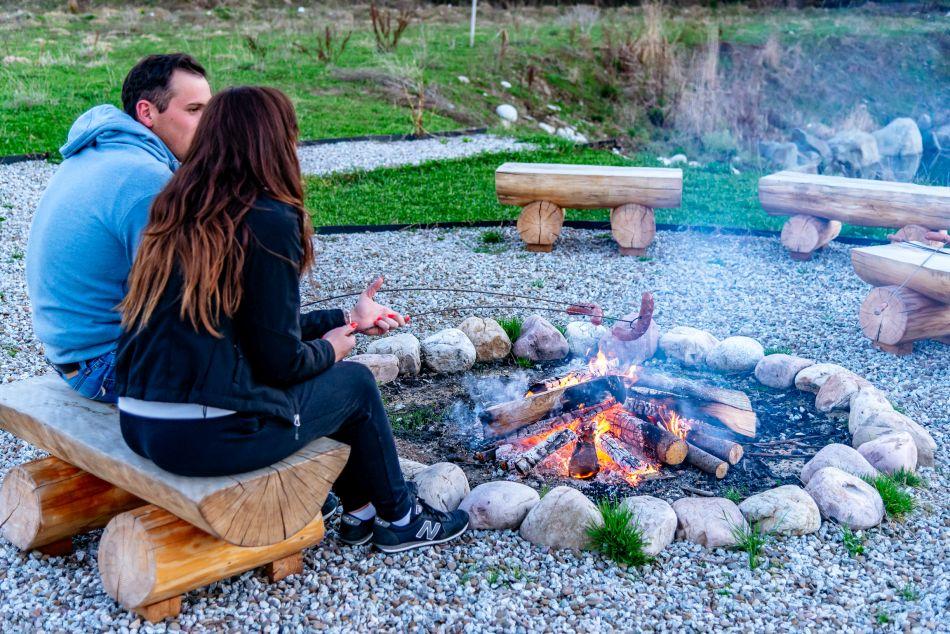 camping fireplace campfire bialka tatrzanska burkaty