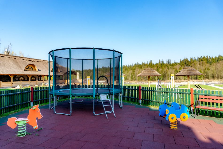 Child Friendly Hotel Kids Children Bialka Tatrzanska swing playground