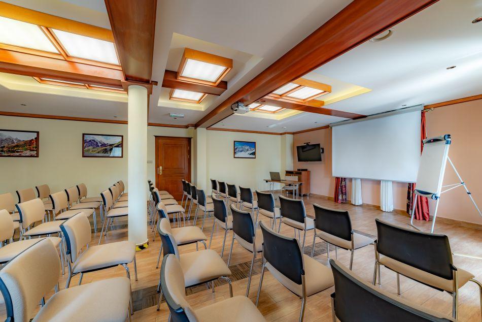 sala konferencyjna Białka Tatrzańska, konferencje Pensjonat Burkaty, przerwa kawowa, szkolenie, grupa, integracja